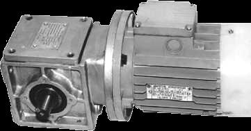 Мотор-редуктор спироидный МРС1 -25