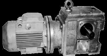 Мотор-редуктор спироидно-цилиндрический МРСЦ2-34/88