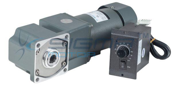 электродвигатель с регулируемой скоростью и с электромагнитным тормозом